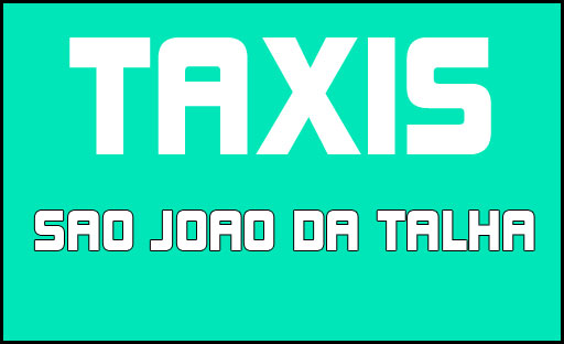 Taxis Sao Joao da Talha